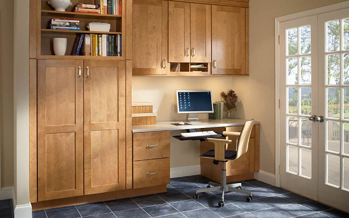Modern Style Can Be Inviting With Cabinetry In Warm Toffee