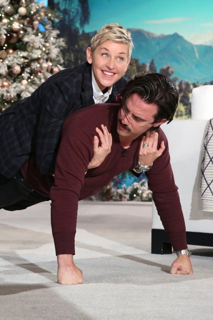 Try Not to Be Jealous as Ellen DeGeneres Lives Out All of Your Milo Ventimiglia Fantasies