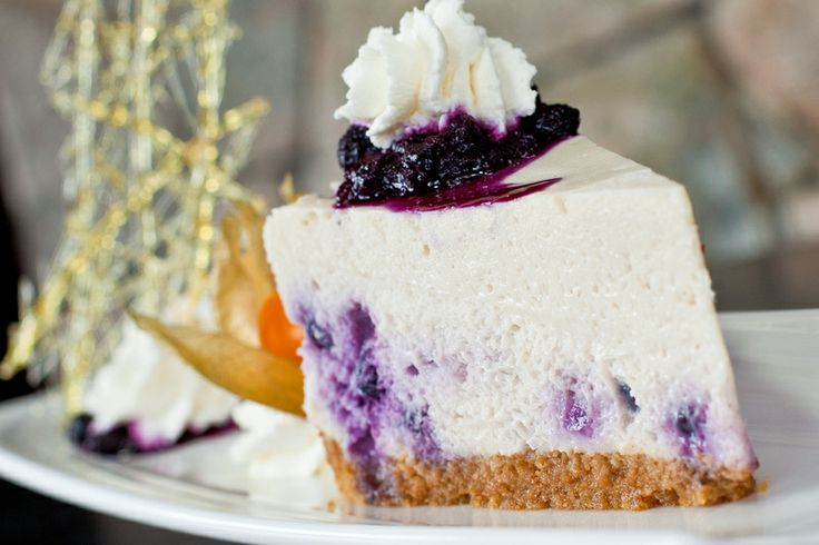 Longwood Blueberry cheesecake. We make our cheesecake in-house (so much more delicious that way)