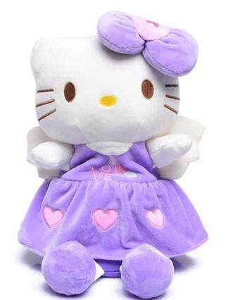 Plush Backpack Hello Kitty For Girls Boys 3D Minnie Mouse School Bags Cartoon Kids Boys Girls School Backpack Child Schoolbags
