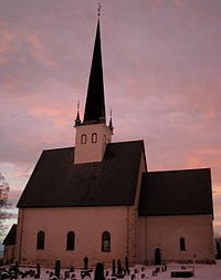 Stange Parish Church, Norway. Where my ancestors worshipped.