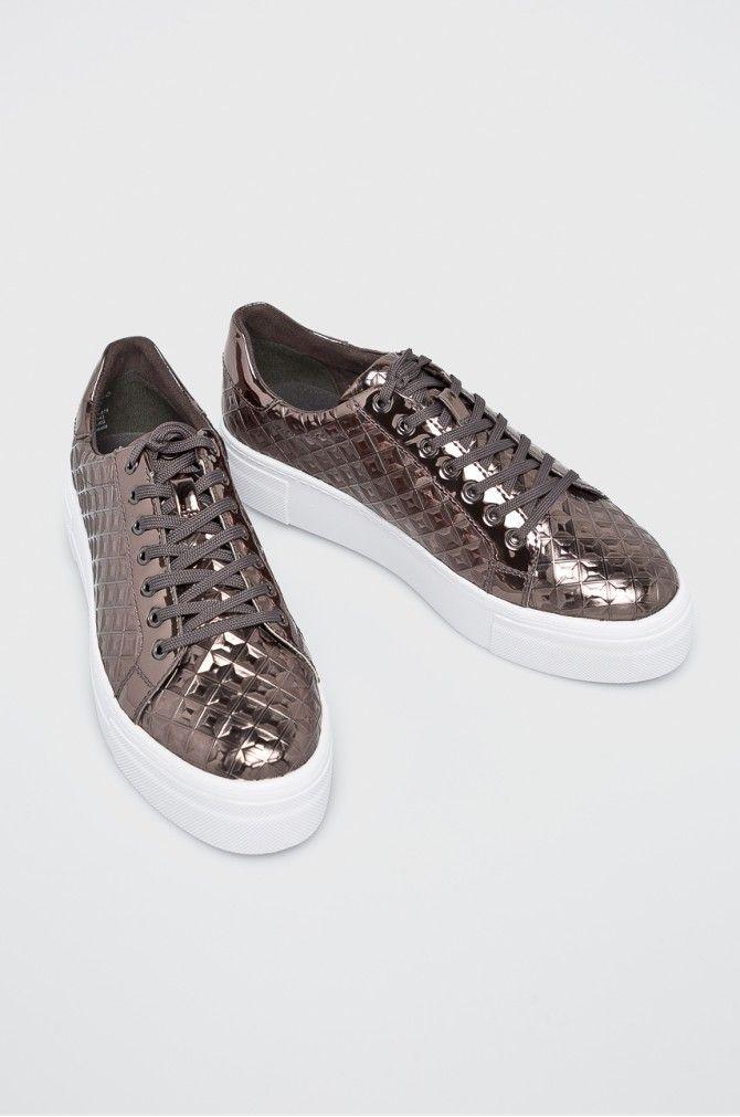 Tamaris Buty Metallic Sneakers Sneakers Shoes