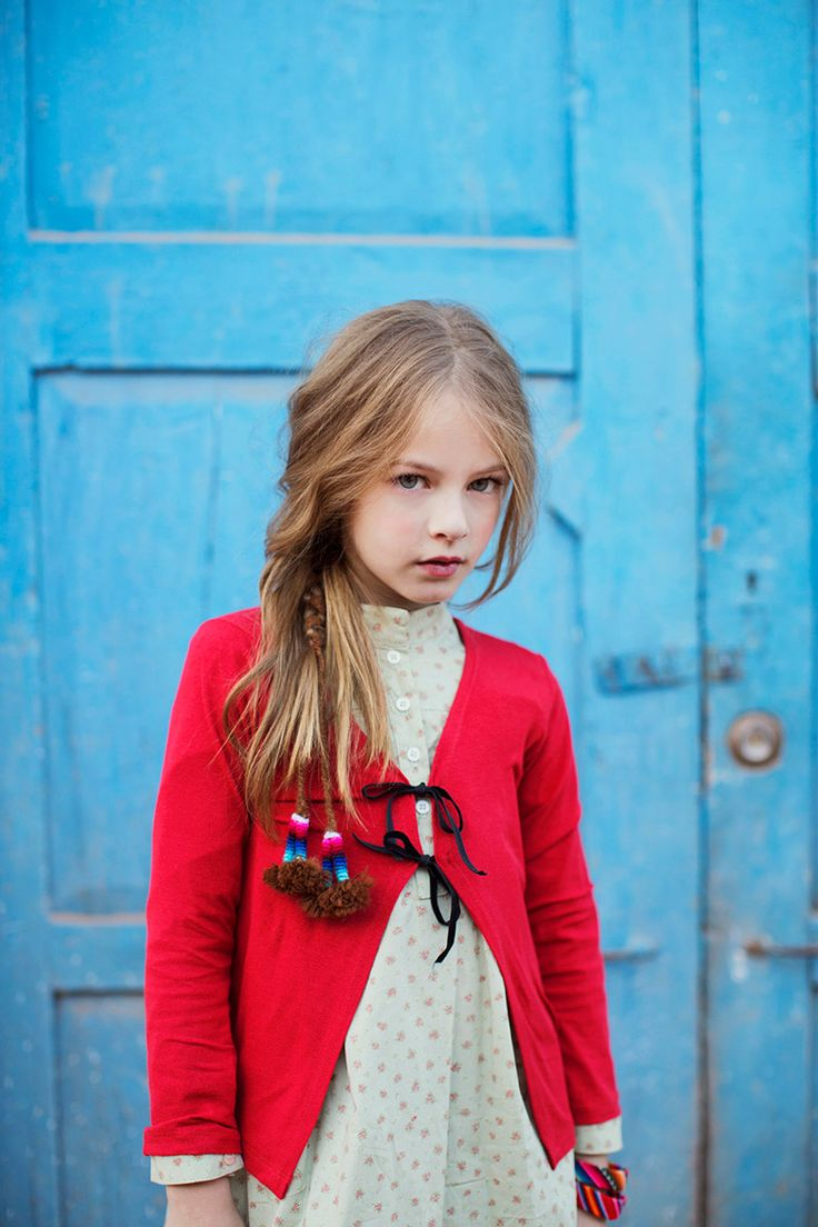 Photo linda da Erika Verginelli!! Editorial para a Vogue Kids