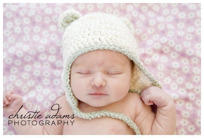 Bamboo Snuggle Bear Infant Ear Flap Hat by MooseMouseCreations. $28.00, via Etsy.