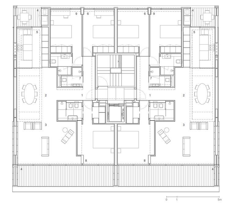 Les 142 meilleures images du tableau plan logements sur for Acheter des plans architecturaux