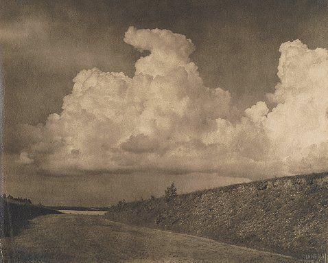 Bułhak Jan, (Ostaszyn, 1876-1950, Giżycko). Bohdanów - pejzaż z drogą, 1925.