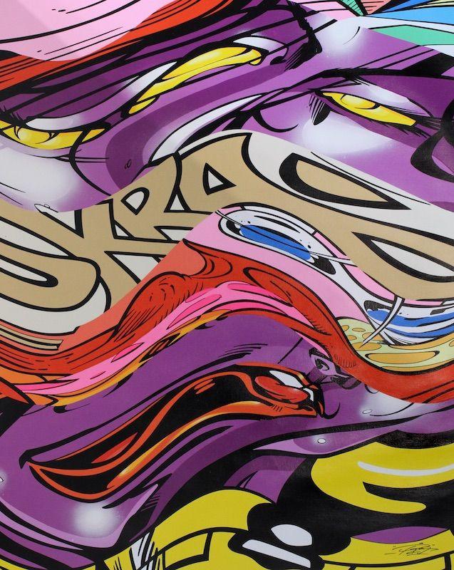 PRO176 - INFINITE SATIVA - GALERIE ZIMMERLING & JUNGFLEISCH http://www.widewalls.ch/artwork/pro176/infinite-sativa/ #Painting