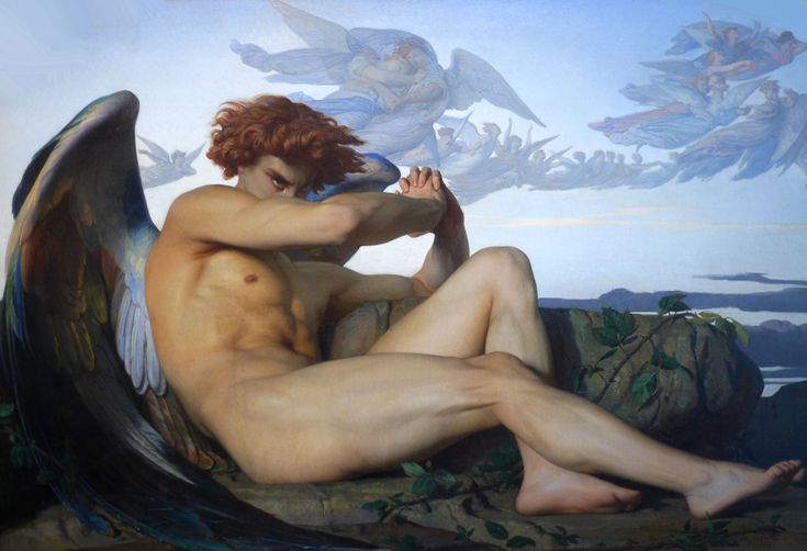 "Alexandre Cabanel ""Fallen Angel"""