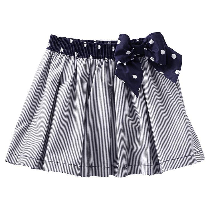Falda para Niña Moño Azul con Puntitos OshKosh - Bebitos $399