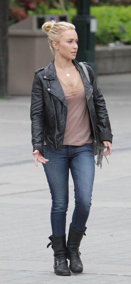 hayden panettiere. casual & beautiful!