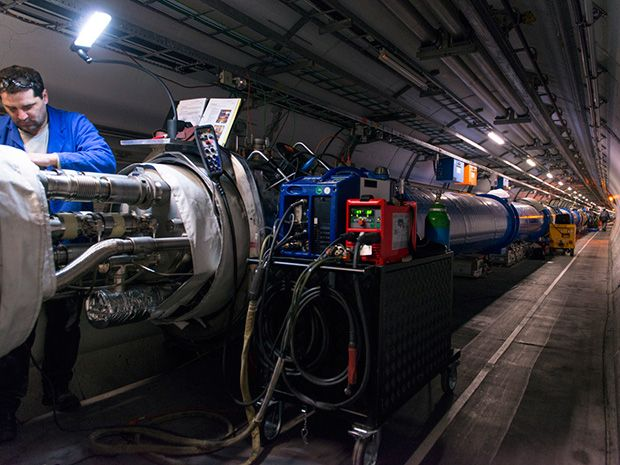 China Plans Enormous Particle Collider - IEEE Spectrum