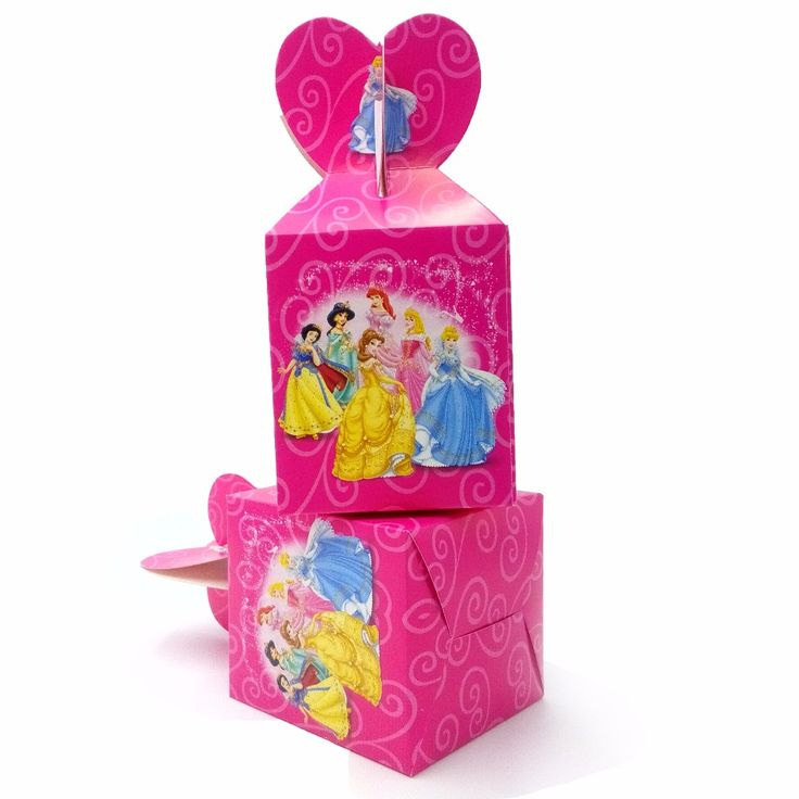 Cheap box cartoon, Buy Quality party supplies directly from China box box Suppliers: HOT 6pcs/set Beautiful Princess Party Supplies Paper Candy Box Cartoon Kids Birthday Baby Shower Decoration Paper Candy Box