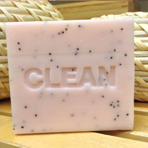 Rose & Poppyseed Botanical CLEAN Soap Bar (1x100g)