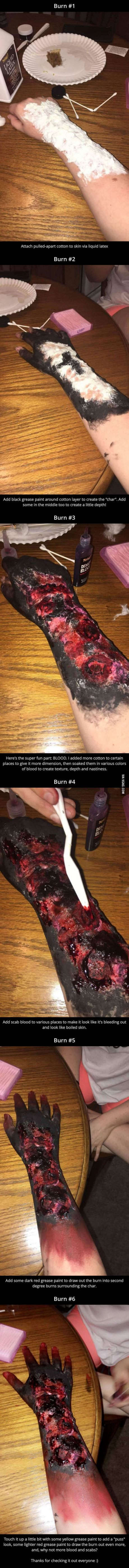 Special FX Burn Tutorial