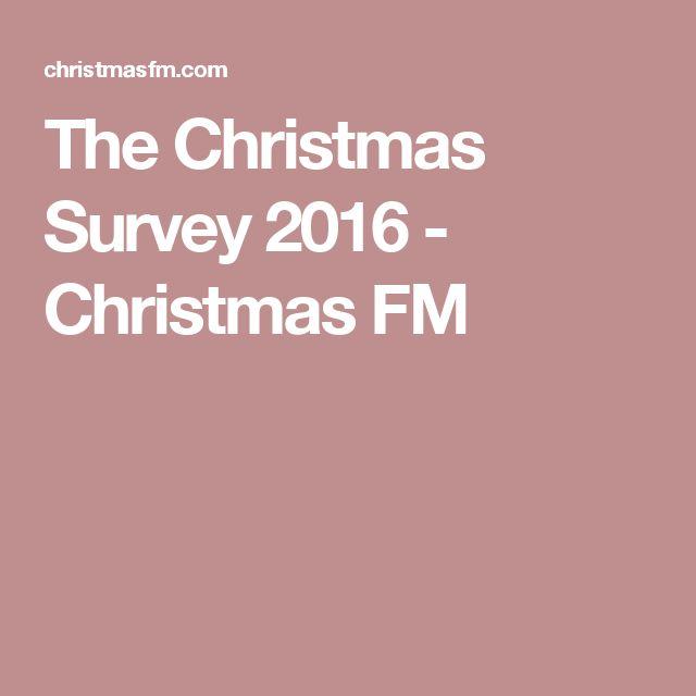 The Christmas Survey 2016 - Christmas FM