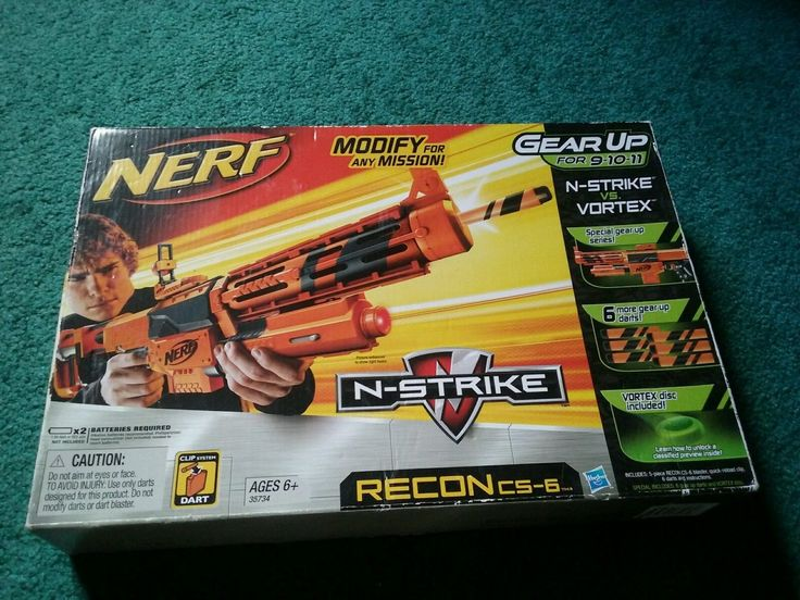 Nerf Gearup Recon  New In Box  Extremely Rare  In USA