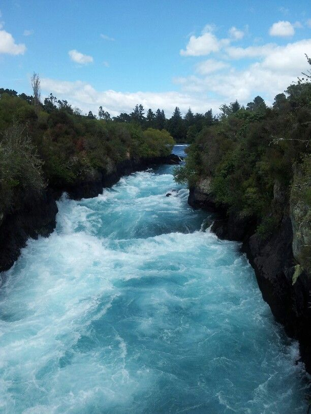 Hula Falls Lake Taupo NZ