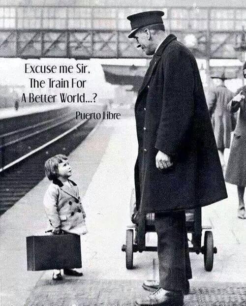Afedersiniz bayım, daha iyi bir dünyaya giden tren var mı?