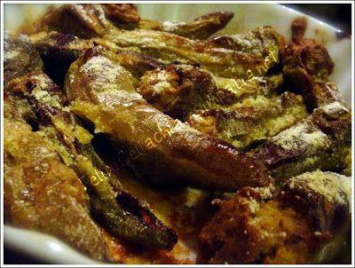 Peperoni verdi a cornetto ripieni | Un cuore di farina senza glutine