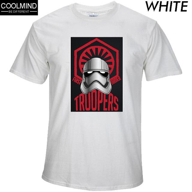 100% cotton short sleeve star wars print men tshirt cool funny men darth vader T-shirt casual o-neck mens t shirt 2017