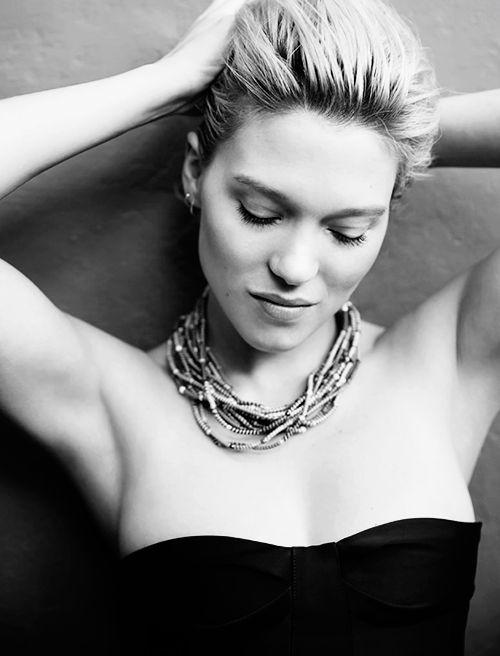 Léa Seydoux photographed by Fred Meylan