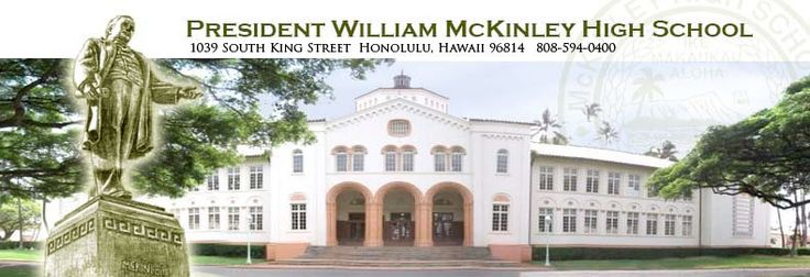 Welcome to President William McKinley High School