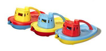 Green Toys™ Tugboat: Water Toys, Milk Jug, Tug Boats, Bath Toys, Milk Cartons, Milk Bottle, Toys Tugboat, Green Toys, Bath Time