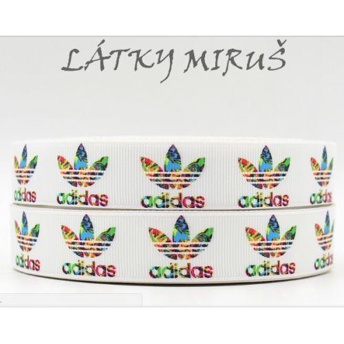 Stuha logo Adidas (15cm)
