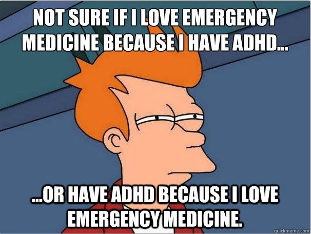 Emergency Medicine Fry #meded #EMRules