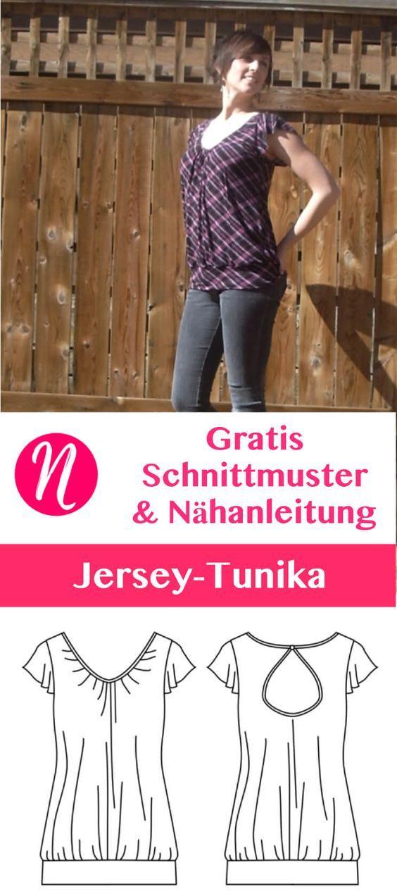 87 best Oberteile images on Pinterest | Kleidung nähen, Nähideen und ...