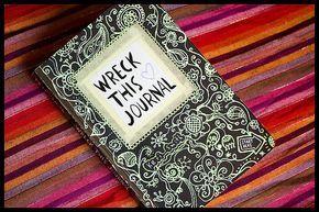 Wreck this Journal, você conhece?   Seguindo o Coelho Branco
