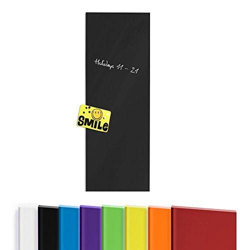Tableau en verre casa pura® en 8 coloris | avec 5 marqueurs inclus | verre de sécurité aimanté, inscriptible | taille 20x60cm, noir casa pura http://www.amazon.fr/dp/B00WI5KGCM/ref=cm_sw_r_pi_dp_QovIwb1EQ0QTZ