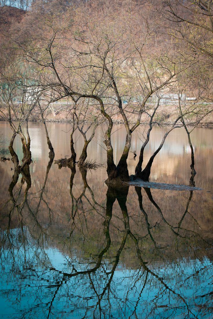 как фотографировать отражения в воде карта