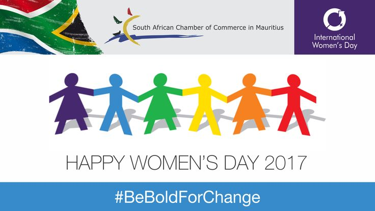 Today 8th March 2017, we celebrate women for their achievements in various fields: social, cultural, political,economic and legal. On this special day, we commemorate the on-going global struggle for women's right and gender parity. International Women's Day has been celebrated since early 1900's, and is all about reflection, unity, action and advocacy. Happy Women's day to all women and particularly to our female members! Be part of the South African Chamber of Commerce in Mauritius now!