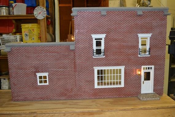 OOAK 1 Scale Original Brick Dollhouse by DreamsoftheDragonfly, $175.00Scales Originals, Bricks Dollhouse, Originals Bricks