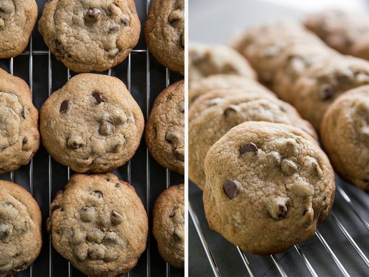 http://westphoria.sunset.com/2015/05/21/sunsets-best-thick-chewy-chocolate-chip-cookie-recipe/ For perfectly baked cookies, use an ice cream scoop and space the balls 5 to a sheet.
