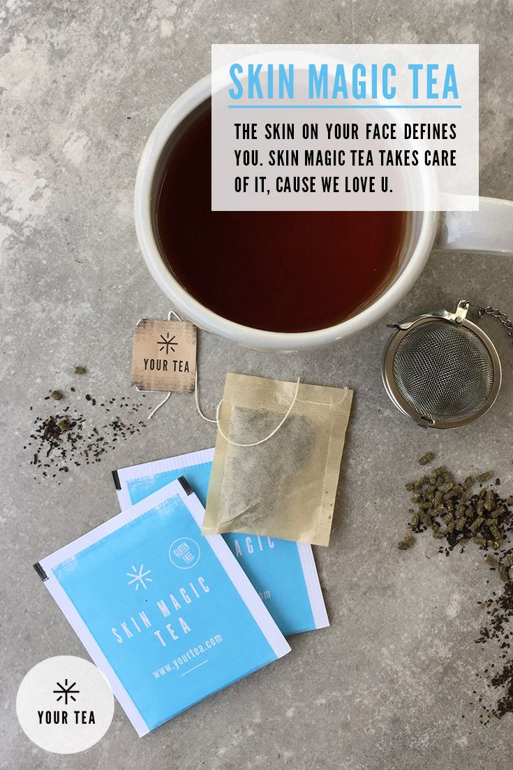 Skin Magic Tea Health Benefits: Everyone knows that for flawless, radiant skin, one needs their beauty sleep! Traditionally Skin Magic Tea ingredients have been used to assist with: acne, cystic pimples, eczema, hormonal skin, uneven skin tone and assisting digestion. SHOP Skin Magic Tea   Organic Herbal Blend http://america.yourtea.com/products/skin-magic-tea?_ga=1.61063404.1509873513.1439317348 Acne   Skin Problem Solutions   Skin Care Tips