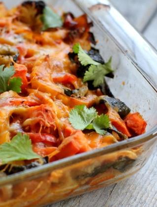 "Roasted Vegetable Enchiladas!! Dubbed ""Healthy Comfort Food ..."
