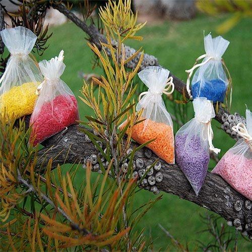 Arroz para bodas de todos los colores.