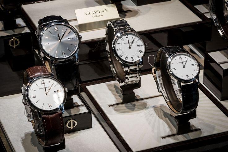 Bortolin Gioielli Udine - le nostre vetrine  #gioielli #orologi #Baume&Mercier. Visita il nostro sito www.bortolingioielli.it