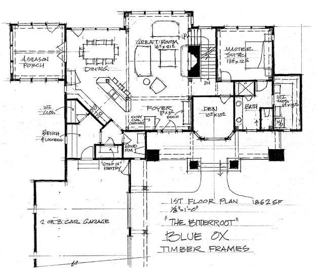 33 best log home builders alberta floor plans images on for Timber frame floor