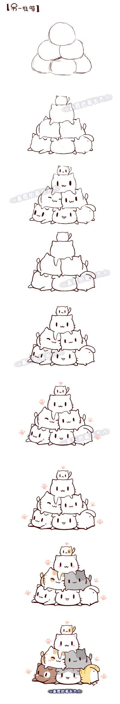KITTY PILE!!!!!                                                                                                                                                                                 More