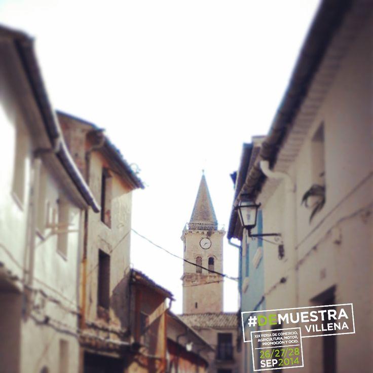 Barrio El Rabal con Santa María al fondo. #DeMuestraVillena #Villena www.muestravillena.villena.es www.facebook.com/Muestravillena @muestravillena