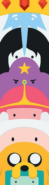 Adventure Time Totem by dudsbessa, via Flickr