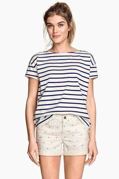 Pantalón corto de sarga | H&M