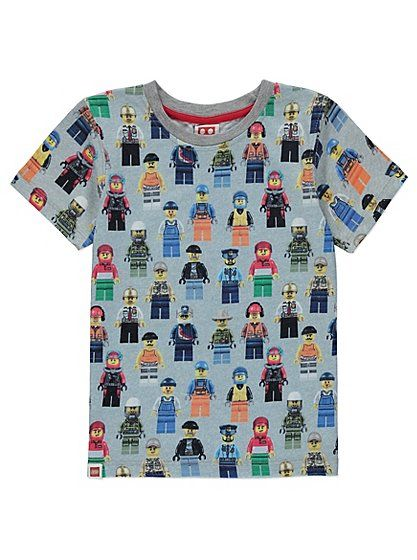 Lego City T-shirt, read reviews and buy online at George at ASDA. Shop from our latest range in Kids. We've printed the nation's most popular toy onto a supe...