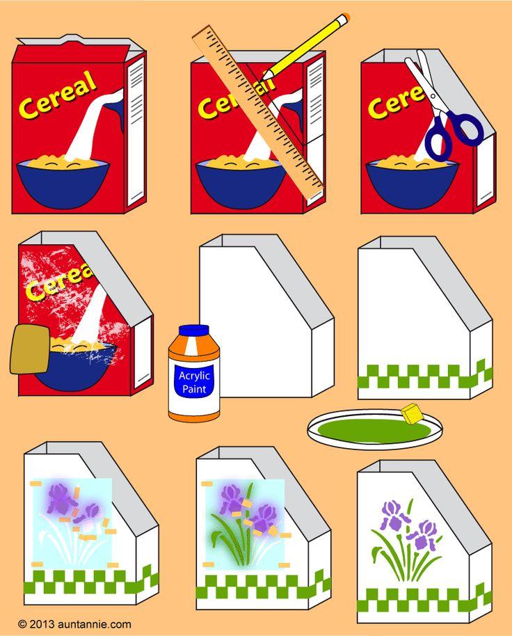 Paso 2: Cortar la caja de cereales