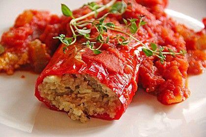 Gefüllte Spitzpaprika mit Couscous, ein schönes Rezept aus der Kategorie Gemüse. Bewertungen: 209. Durchschnitt: Ø 4,5.