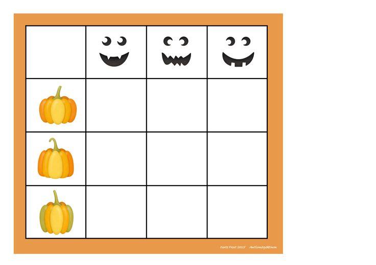 Board for the matrix game. Find the belonging tiles on Autismespektrum on Pinterest. By Autismespektrum