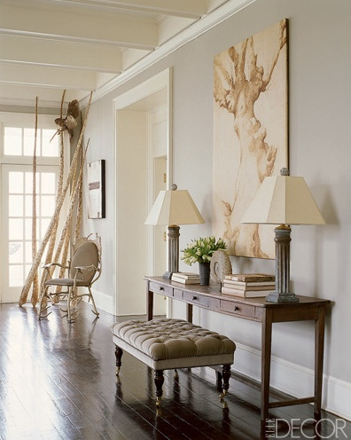 Love this paint color. I wish I knew what it was-assume farrow & ball-elephants breath?